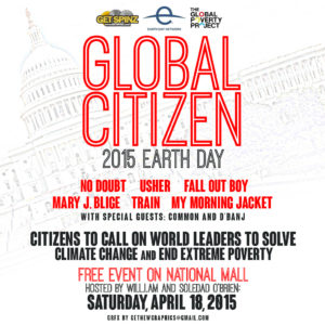 Global Citizen 2015 tag