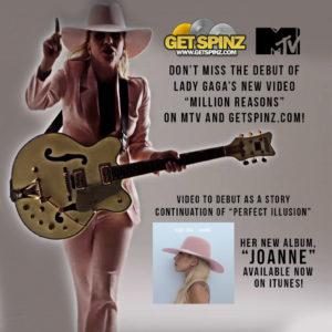 Lady Gaga Flyer