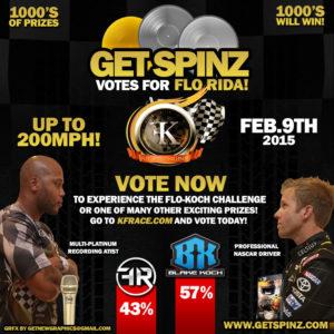 Rapper vs Racer GetSpinz Promo