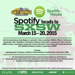 Spotify SXSW