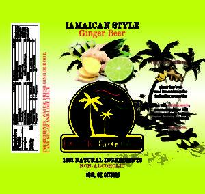 exotic taste cafe ginger beer 2 lg nutrtion label